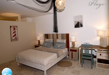 "Chambre ""La Plage"" - Bed & Breakfast"