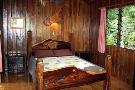 Bungalow with open air bathroom - Cape Tribulation - 住宿加早餐