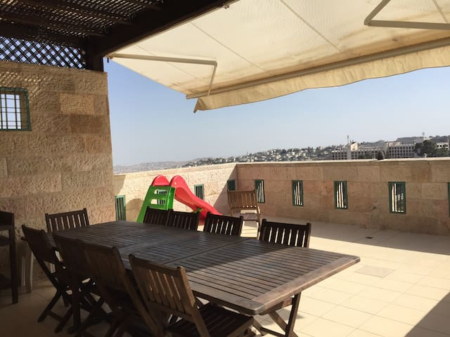 Terrace  view of Dead Sea