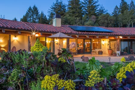 Mountaintop Ocean View Ranch - Corralitos - Casa
