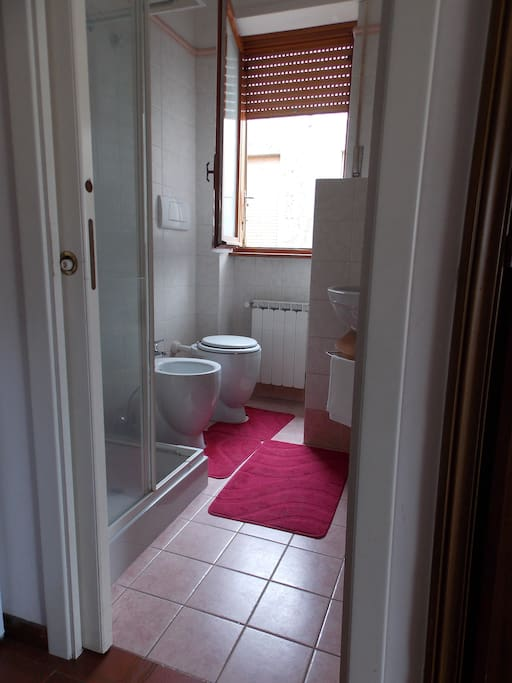 Bagno privato  (Private bathroom)