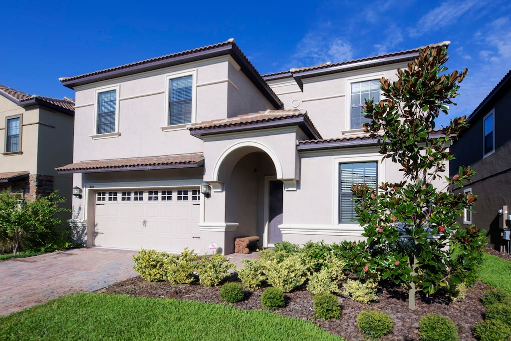 Bring along the whole family for a vacation to remember forever at this stunning 9 bedroom estate home in ChampionsGate resort - just minutes from Walt Disney World® Resort.