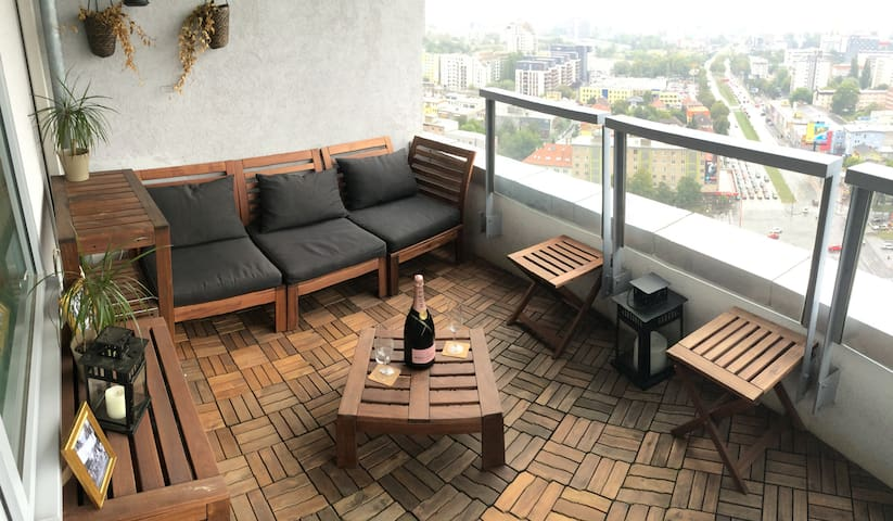 Luxury Apartment - Panoramic View - บราติสลาวา - อพาร์ทเมนท์