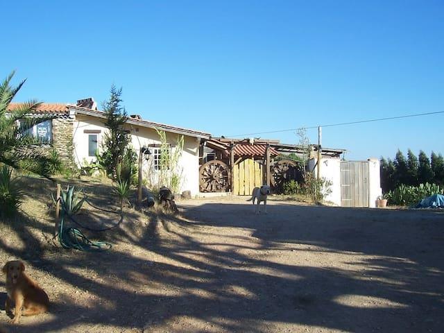 Gästehaus auf schöner Farm - Odemira - Huis