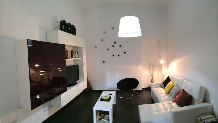 Bilocale Moderno a 200m dal mare - Bianco - Apartment