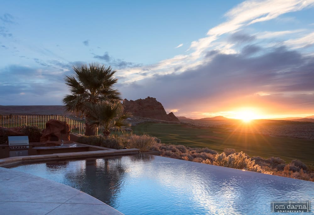 Private quiet casita in sand hollow resort guesthouse for rent in hurricane utah united states for Sand hollow swimming pool st george