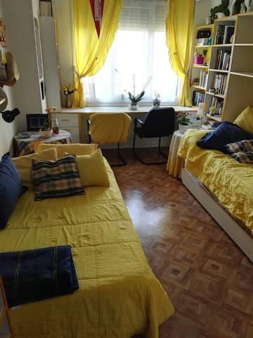 Habitación doble y céntrica - Valladolid - Casa
