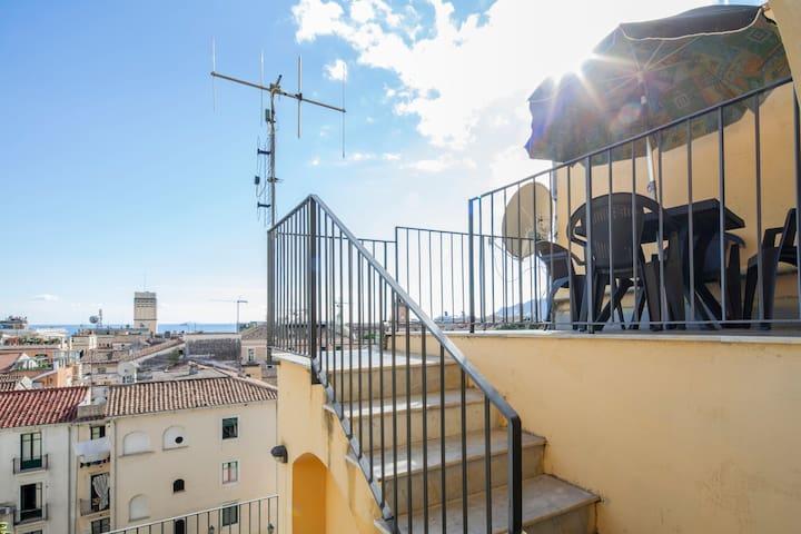 scala balcone camera letto - terrazzino