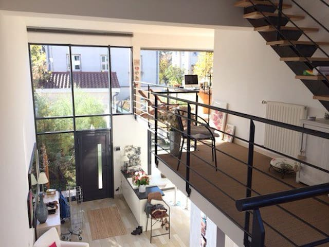 Triplex lumineux avec jardin - Lyon - House