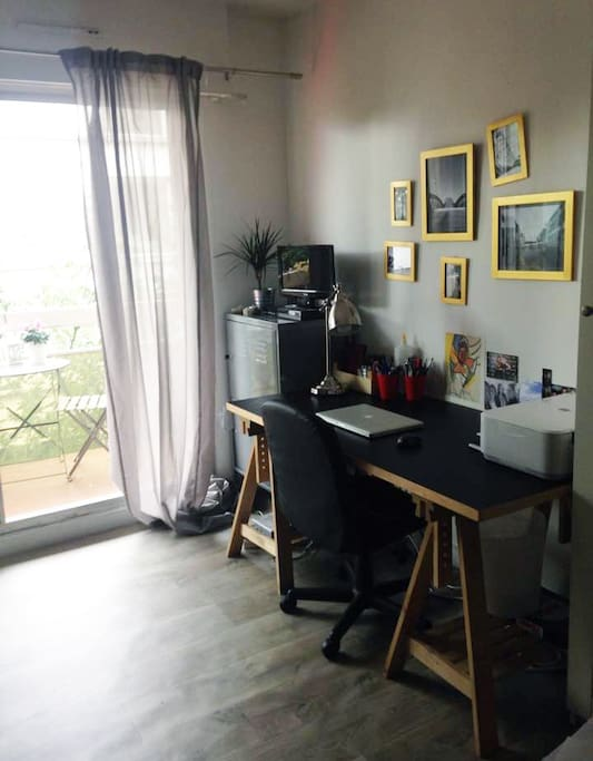 Studio 23m2 avec balcon appartements louer paris 20e for Appartement avec balcon paris