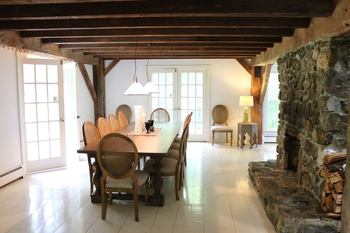 Renovated Barn for Beautiful Country Escape - Roxbury - 一軒家