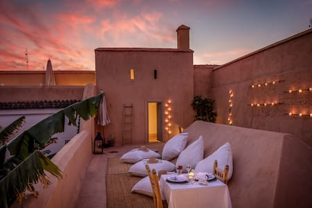Traditional Riad with real garden - Marrakesh