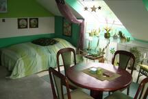 Apartment im  Dachgeschoß