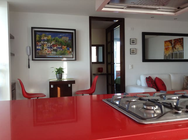 Sorprendente unico apartaestudio - Bucaramanga - Apartemen