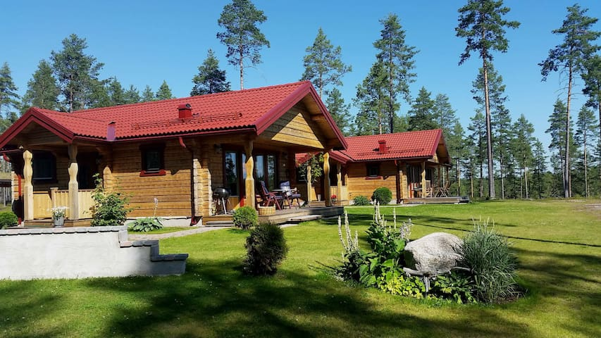 Cozy Lakeside holiday cottage - Mora N - Cabin