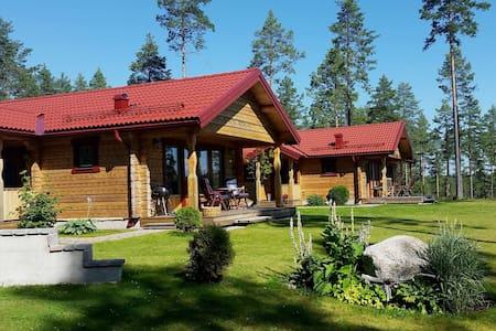 Cozy Lakeside holiday cottage - Mora N - Kulübe