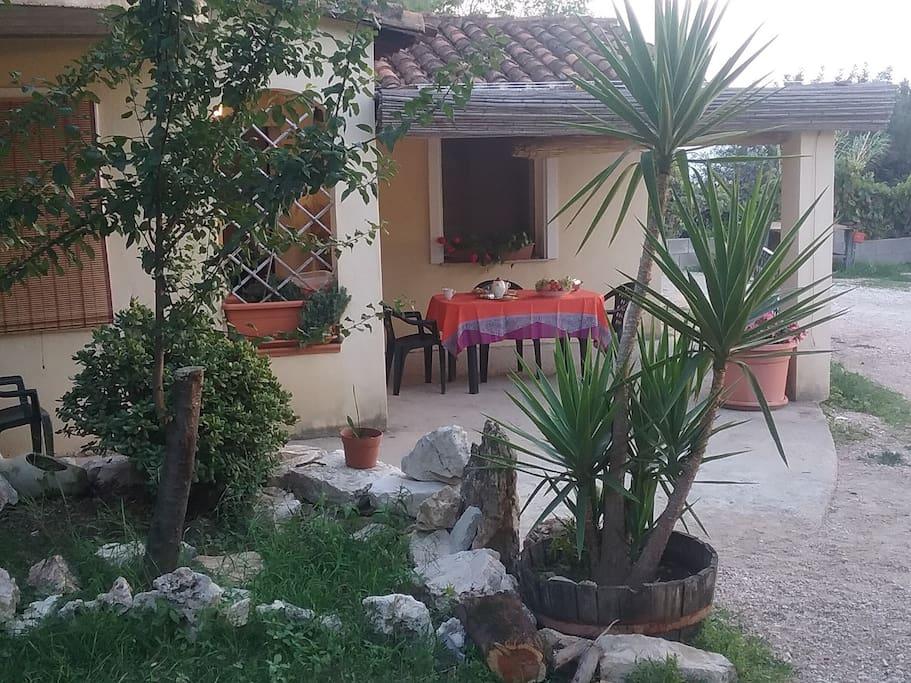 ingresso e veranda