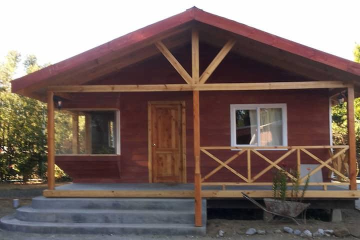 Cabaña El Sauce en Ensenada.