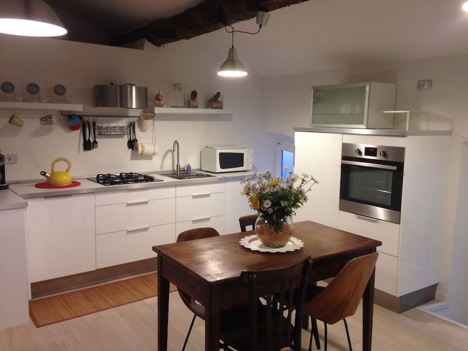 La cucina  |  The kitchen