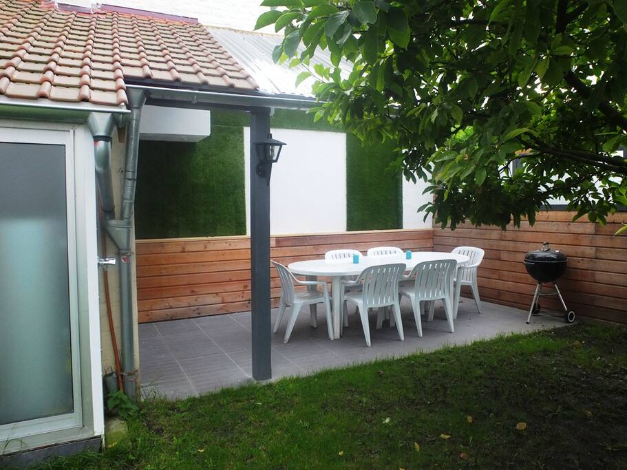 Chambre au fond du jardin proche du vieux lille case in affitto a la madeleine nord passo di - Le jardin champetre magog lille ...