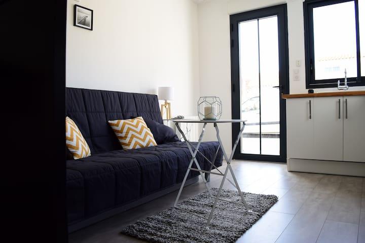Studio cosy près du centre ville - La Rochelle - Appartement