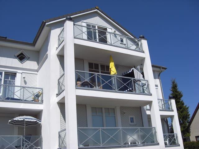 kl. Wohnung in Grömitz, gr.  Balkon - Grömitz - Apartment
