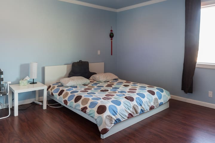 Private longterm  bedroom near Sfo - South San Francisco - Huis