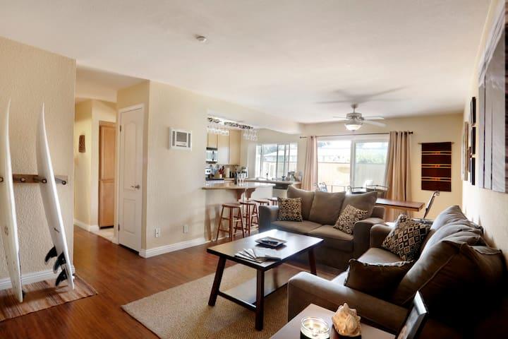 Two Bedroom 4 Miles From Beach! - Oceanside - Lakás