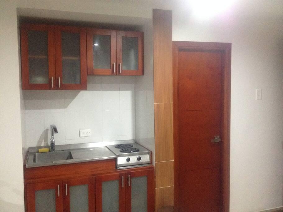 cocina en madera ( cedro)