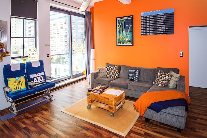 Auckland best loft! Special Offer May-Sept - Auckland Central City - Daire
