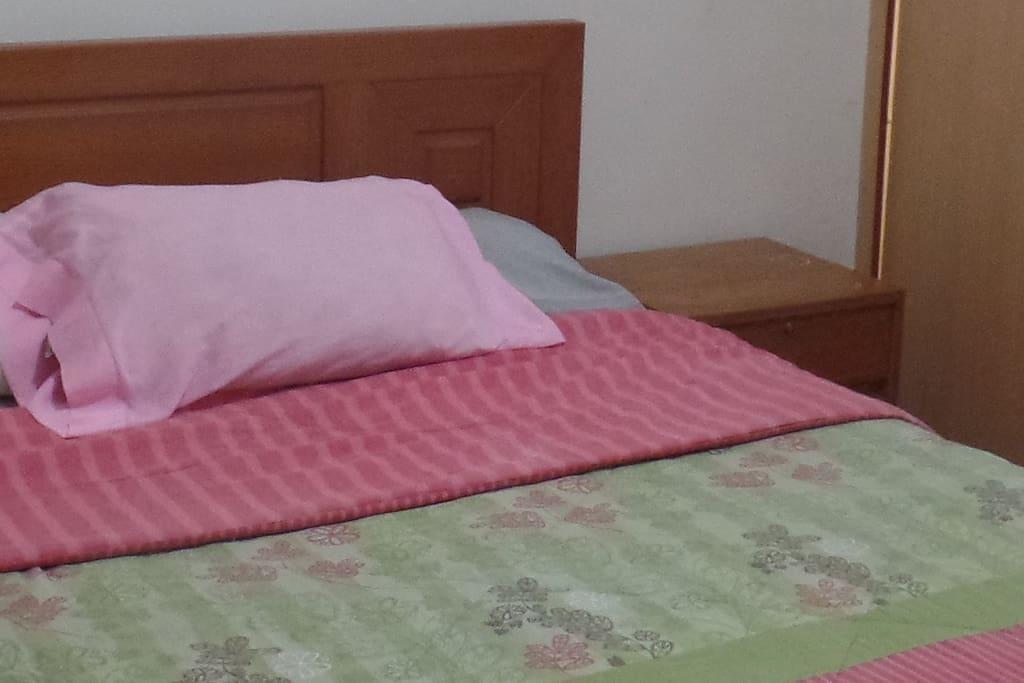 dormitorio aplio con baño propio
