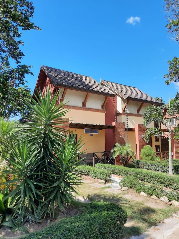 Villa para 9 en Ximenoa River, Jarabacoa