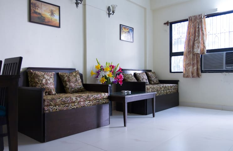 1 BHK Apartment with Swimming Pool-Calangute GOA. - Calangute - Appartement