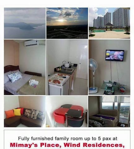 mimay 39 s place wind residences wohnungen zur miete in tagaytay calabarzon philippinen. Black Bedroom Furniture Sets. Home Design Ideas