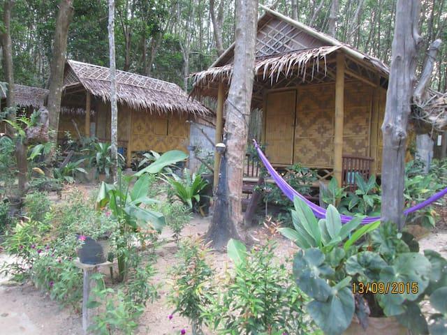 Bamboo  bungalows - Tambon koh lanta yai - Chata