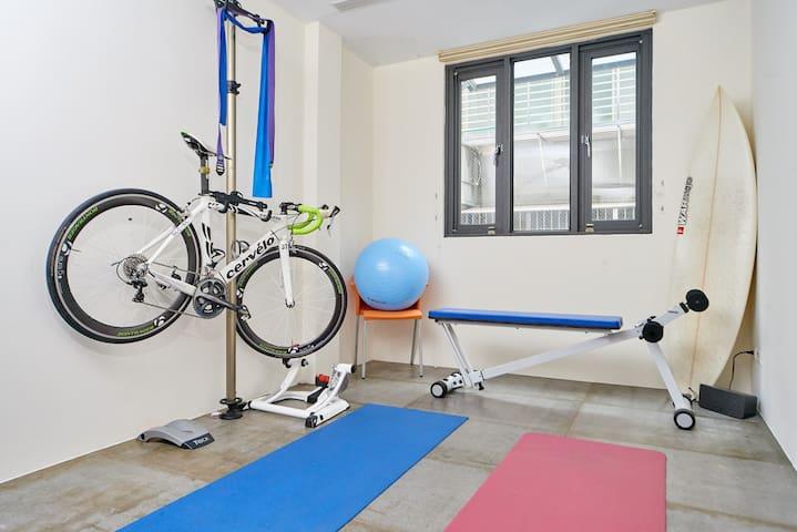 Spare Bedroom 2/Gym Room