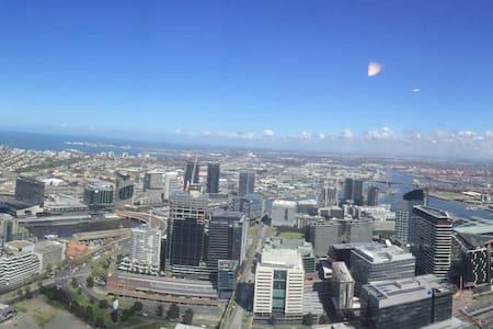 Amazing bay views on Collins street - Мельбурн - Квартира