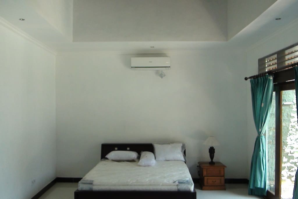 2 rooms new house with space to sleep up to 7 people