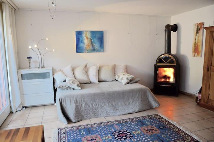 sonnige, ruhige Gartenloft - Embrach - House