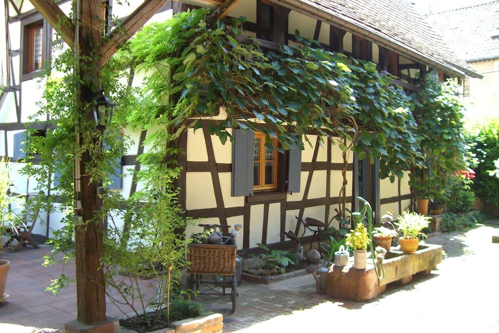 Extérieur maison d'hôtes 1 / The guest house, outdoor 1