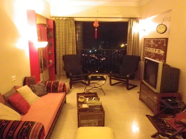 Home W Modern Amenities in Malad E - Mumbai - Apartment