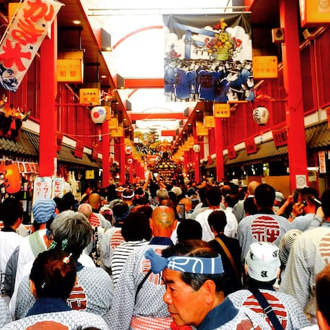 Tokyo Asakusa st 3min Sensoji 30secNear Akihabara - Taito-ku - Pis