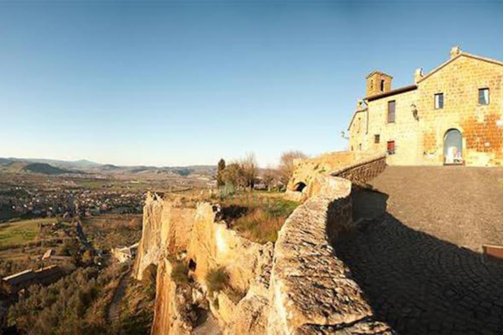 Casa storica con panorama case in affitto a orvieto for Piccoli piani di casa storica