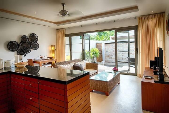 Bangtao Beach Luxury 1 Bed Villa - チョンターレ - 別荘