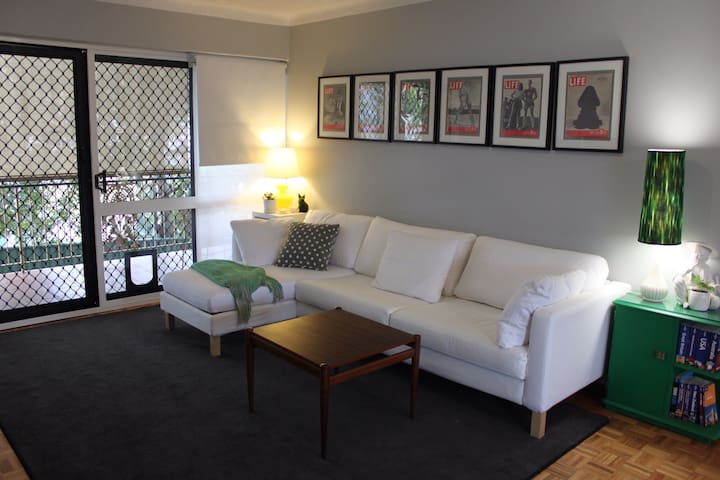 Stylish modern apartment near cafes - Greenslopes - Byt