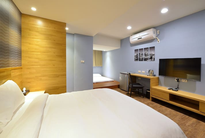 台南 Sun house 民宿,普羅旺斯四人房,適合有孩子的家庭 - North District - Apartment