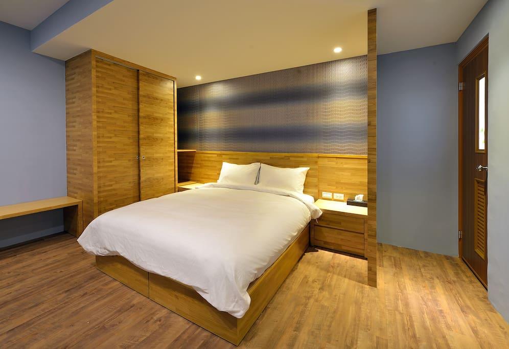 普羅旺斯4人房 寬敞的空間