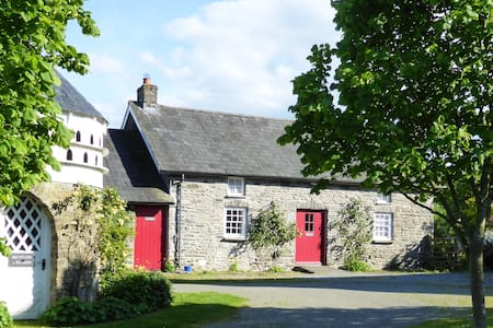 Welsh Country Cottage (Dogs + WiFi) - Llangybi
