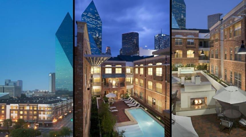 Central Downtown Dallas Location