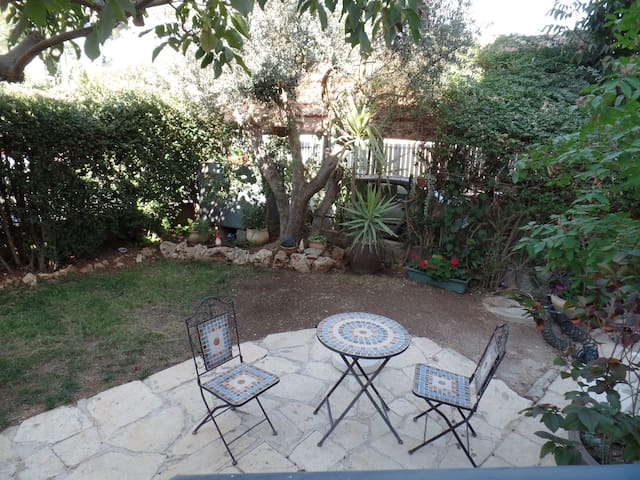 Jerusalem view, garden apartment - Mevaseret Zion - House